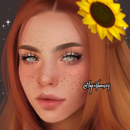 freetoedit woman girl fandearte arteendibujo stickersfreetoedit srcsunflowerselfie