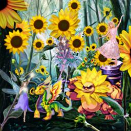 freetoedit 😍 srcsunflowerselfie sunflowerselfie