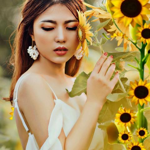 #freetoedit,#srcsunflowerselfie,#sunflowerselfie