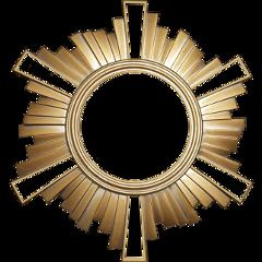 freetoedit sun golden frame decor