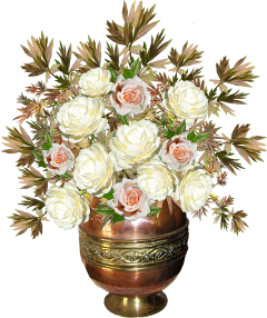 roses flowers bouquet vase beautiful freetoedit