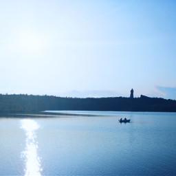 freetoedit panorama sun lake lakes