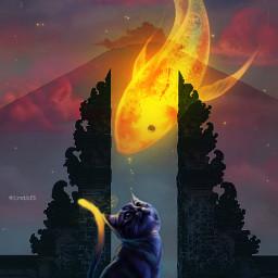 freetoedit bali fantasy magic surreal ectraveltheworld