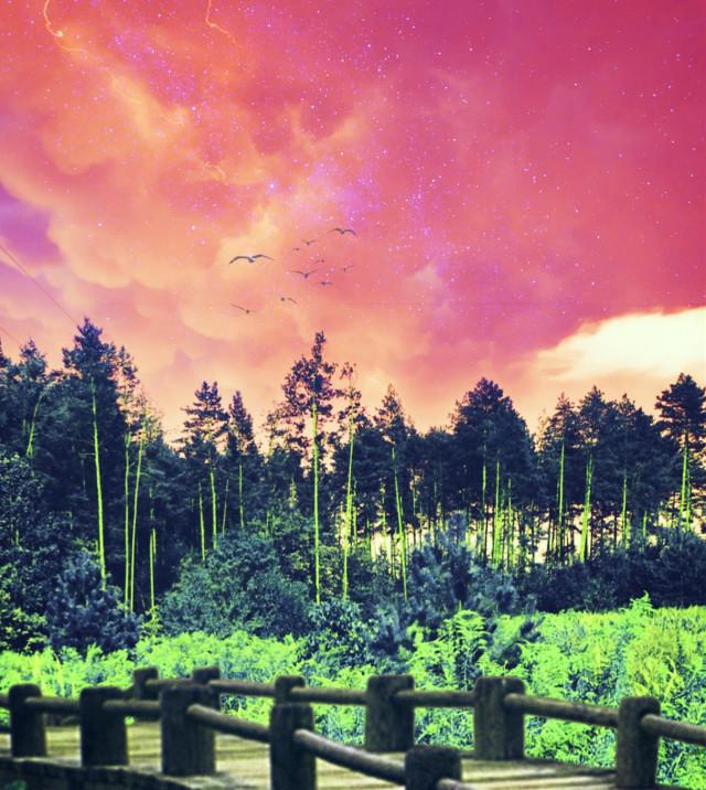 #freetoedit #myedit #madewithpicsart  @picsart @freetoedit #landscape
