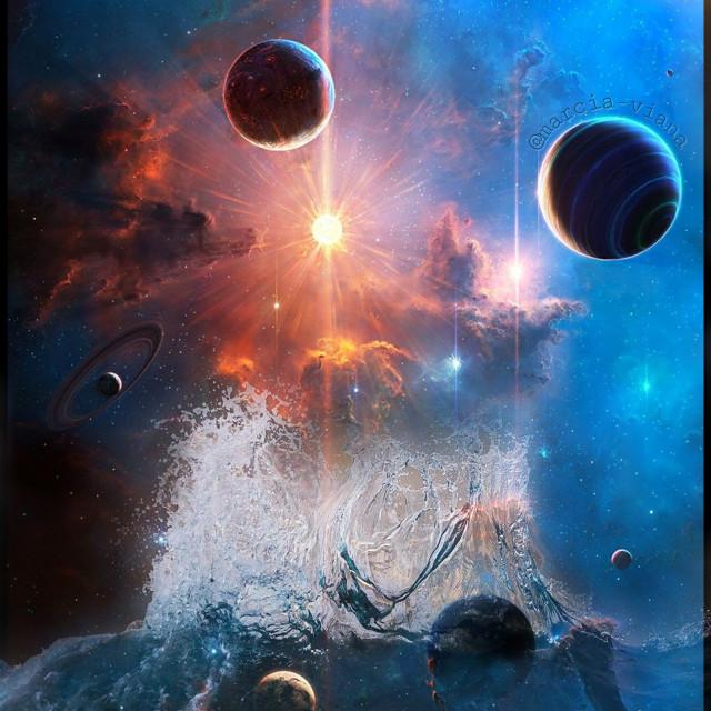 #freetoedit #madewithpicsart #myedit #picsarteffects #space #fantasy #satellites