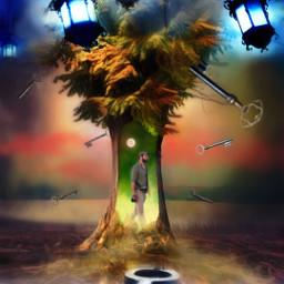 freetoedit surrealism forest key keys ircmanandnature