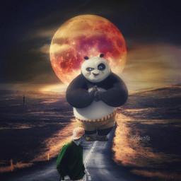 myedit editedbyme snapseed surrealart panda