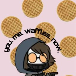 freetoedit ticcitoby creepypasta waffles
