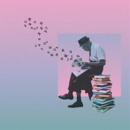 freetoedit lettersbrush oldman reading