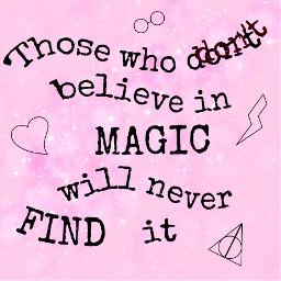 magic believeinmagic hp harrypotter findit