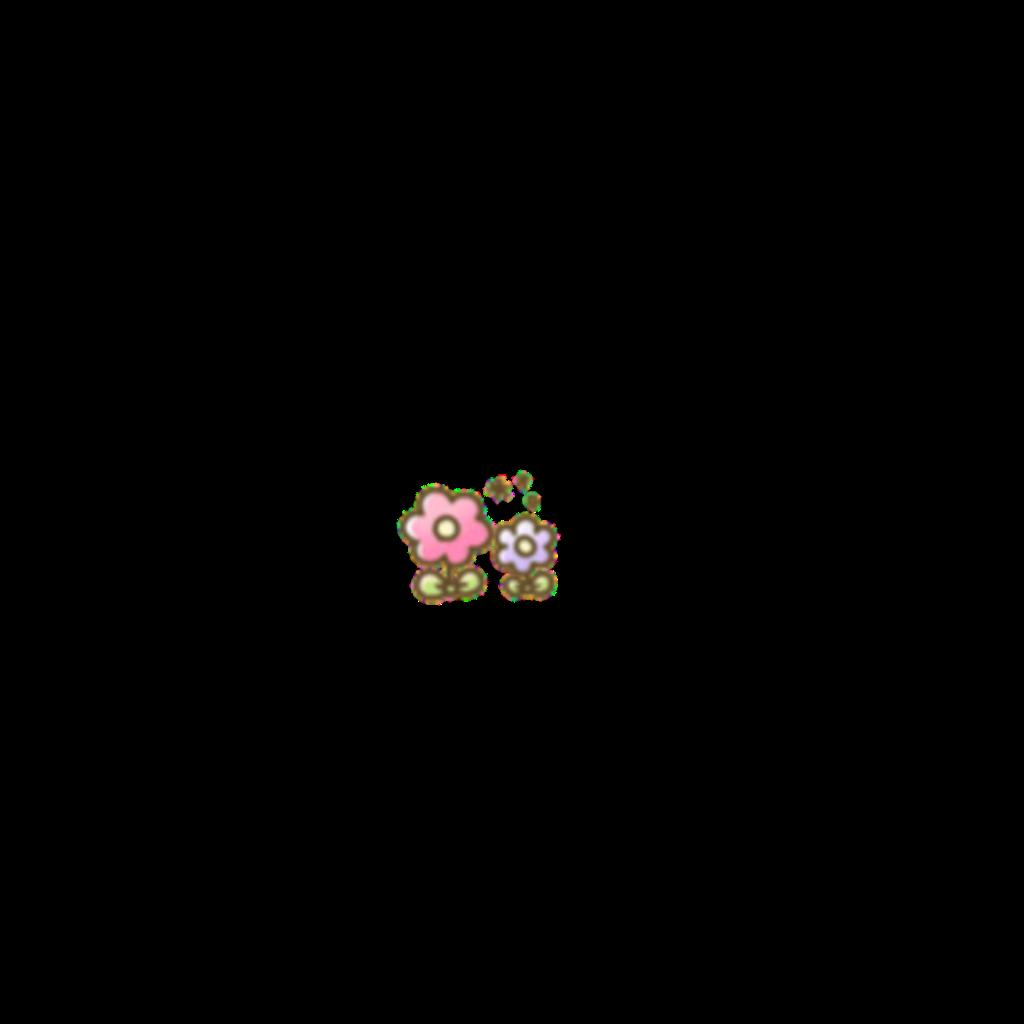 #soft #cute #kawaii #softcore #flowers #pink #purple #green #flower