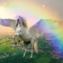 freetoedit unicorn unicornmagic beautiful ecgiantanimals