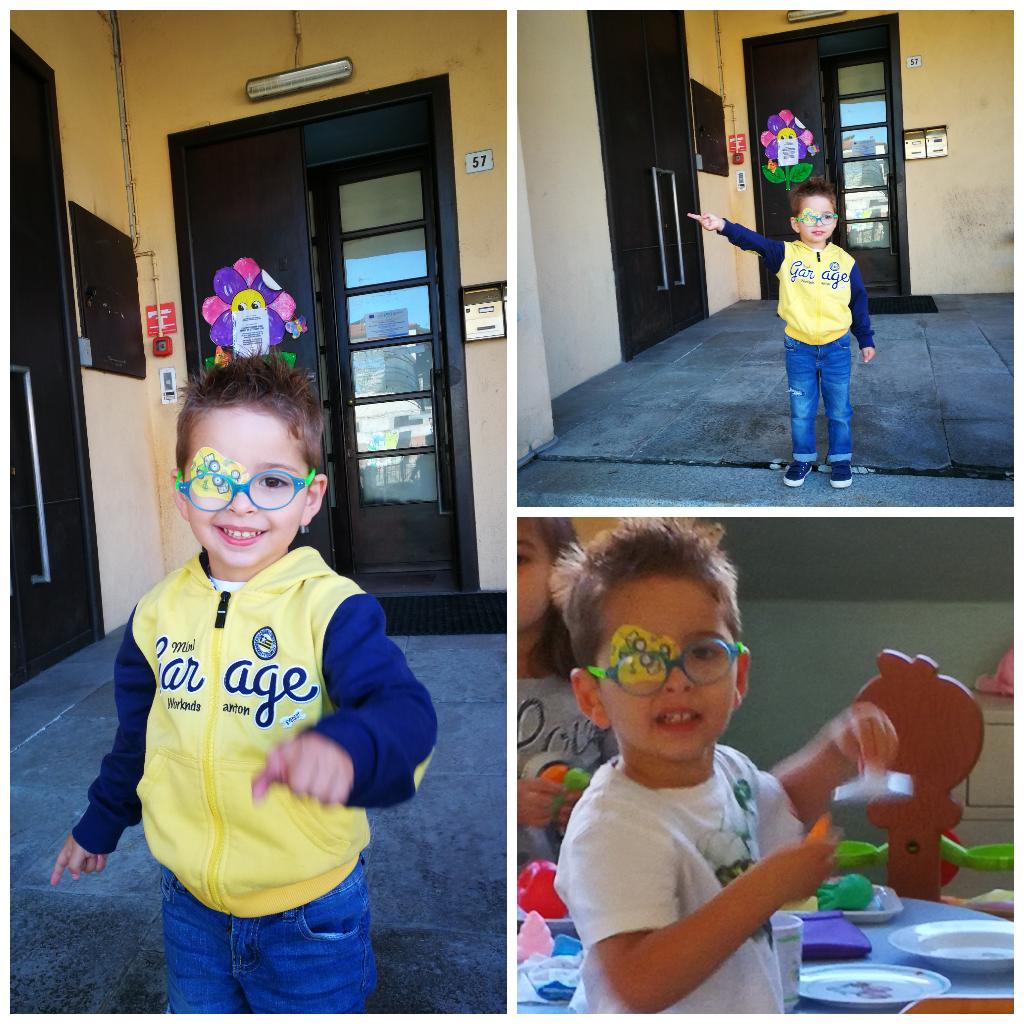1 Giorno scuola  infanzia. Buon inizio amore