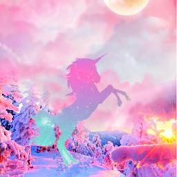 freetoedit fantasyart unicorn dreamy surreal