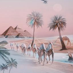 freetoedit desert sand pastel picsart ircpastelremix