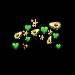emojis emojicrown корона billieeilish avocado freetoedit