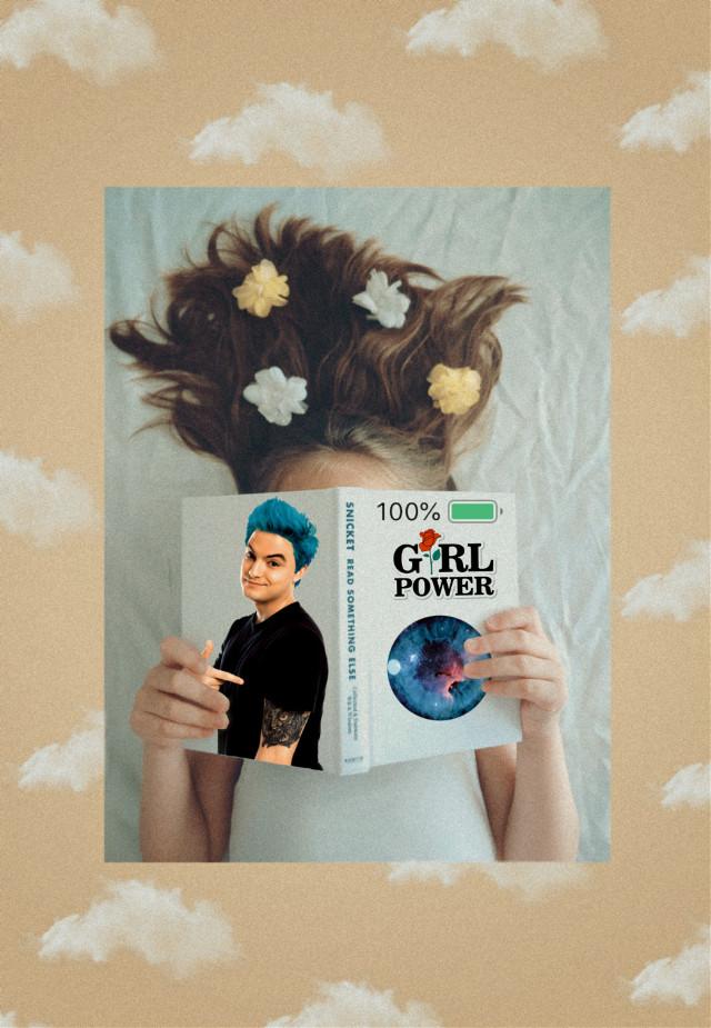#freetoedit #girlpower #book