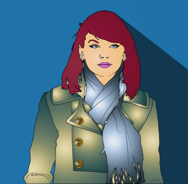 #taylorswift #outline #pinterest #tumblroutline #art #girl #recolor #sketchbook #artbyme