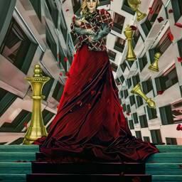 freetoedit architectureremix chesspieces queen stairs