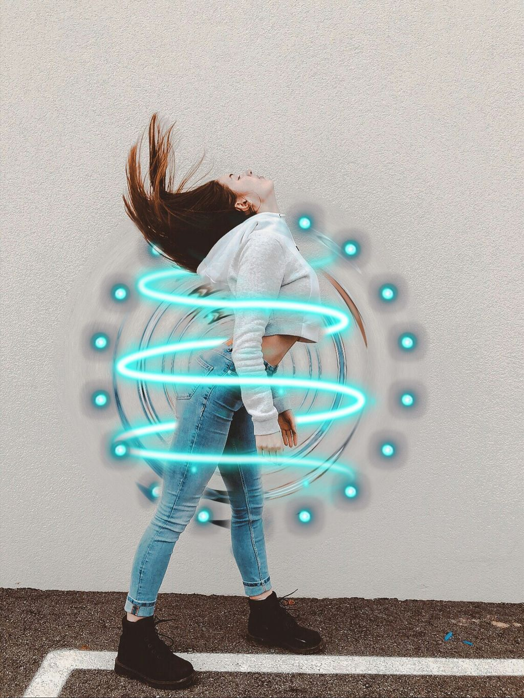 #freetoedit #tumblr #chica #chicatumblr #espiral #azul #blue