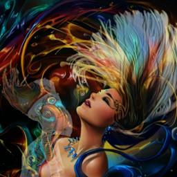 freetoedit colorfulhair ircinmotion inmotion