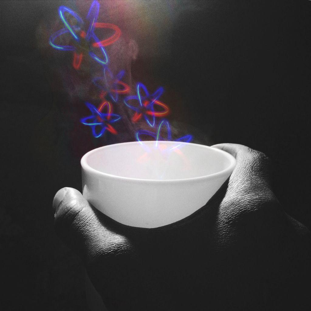 #freetoedit #glow #coffee #cup #interesting