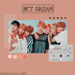 nct nct_dream pink white aesthetic