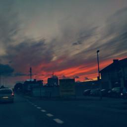 sunsetsky photography colorful september2019 naturephotography