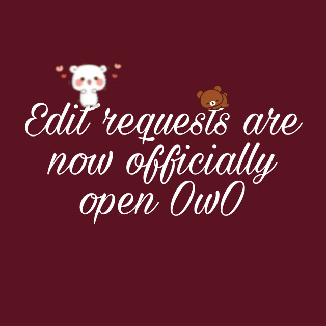 Open now! If u want one here is a step⬇️ 1. Send pic of Oc (Only 1 step for now -w-)