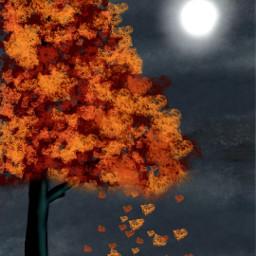 dcautumn autumn drawing madewithpicsart