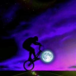 freetoedit fullmoon moonrise dusk