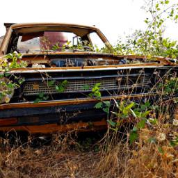 follow car vehicle rust orange freetoedit