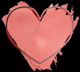 love heart rosegold brush glitter freetoedit