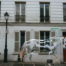 travel france horse city building