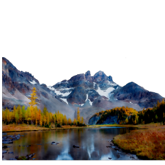 ftestickers landscape scenery mountains river freetoedit