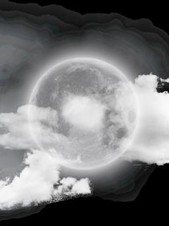 ftestickers sky clouds moon blackandwhite freetoedit