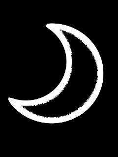 ftestickers sky moon crescent transparent freetoedit