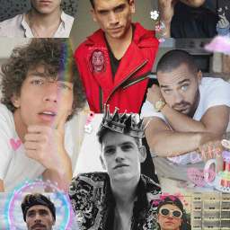 chicosguapos collage beauty freetoedit