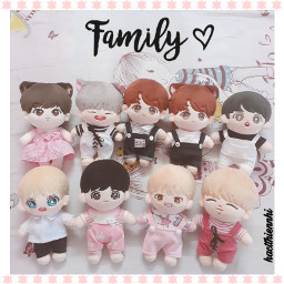 family doll bts freetoedit