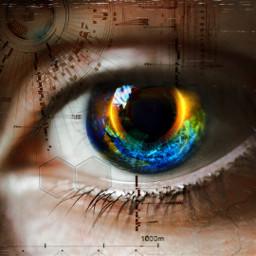 vhseffect neweffect eyeart scifi freetoedit