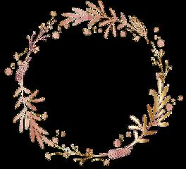 flowers floral wreath leaf circle freetoedit