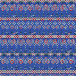 background blue christmas reindeers pattern freetoedit