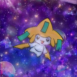 freetoedit pokemon jirachi