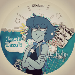freetoedit lapislazuli stevenuniverse lapis lazuli