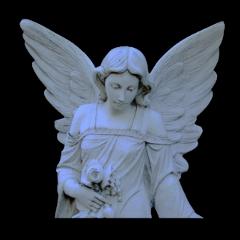 angel sculpture stone complex edit freetoedit