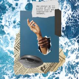 freetoedit aesthetic sea hands layout