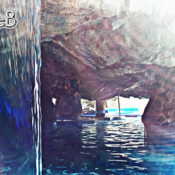 freetoedit spa waterfall sun