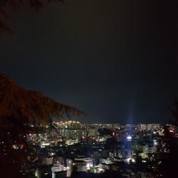 korea night sky freetoedit
