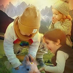 freetoedit myedit childrens fantasy rabbit ircfluffy