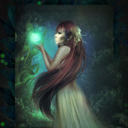 freetoedit fairy fantasy srcframeremix